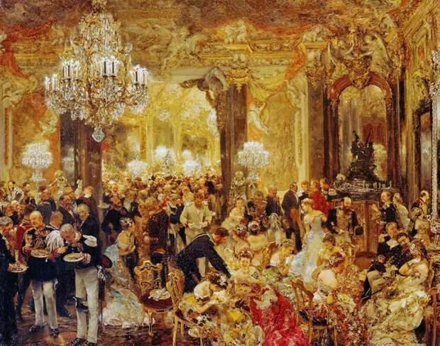Картина бала 19 XIX века