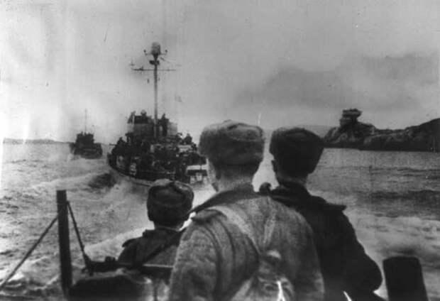 Героическая оборона 22-28 июня, военно-морской базы Лиепая. 1941 год.
