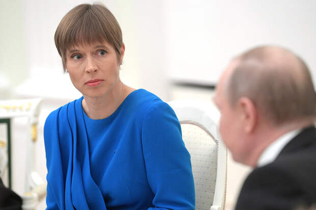 Президенты РФ и Эстонии обсудили меры борьбы с коронавирусом