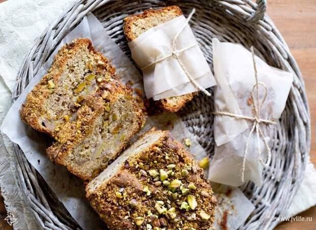 Кулинария с «Московскими сезонами»: банановый хлеб по рецепту Юлии Высоцкой