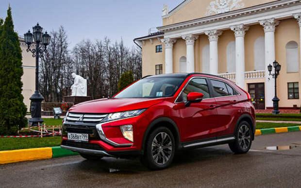 Mitsubishi Eclipse Cross: экстремальный тест на бездорожье