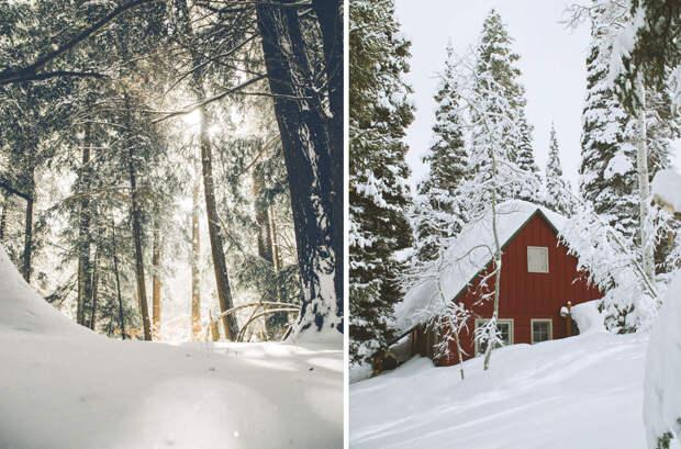 Поет зима, аукает
