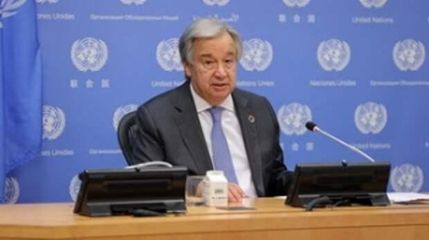 Генсек ООН опасается обострения проблемы голода на планете из-за COVID-19