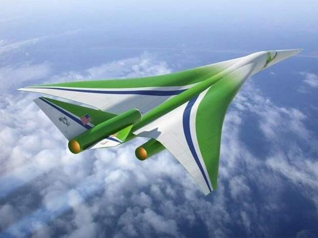 Самолёты будущего NASA