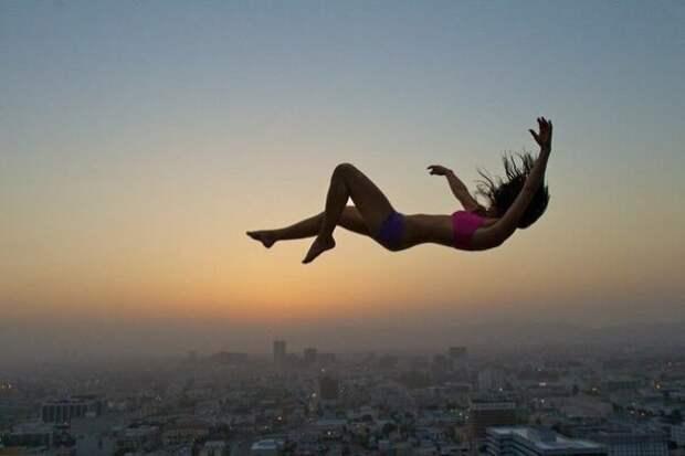 Чем вызваны сны падения?