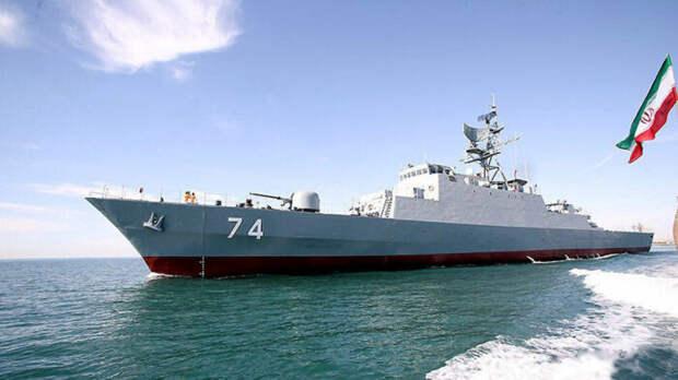 Военные корабли ВМС Ирана направились всторону Израиля
