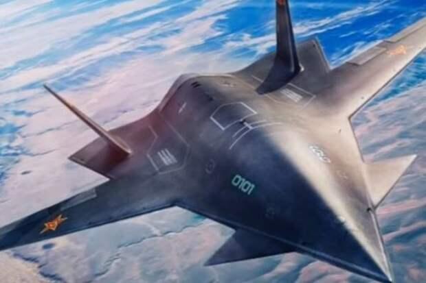 """Китай показал первые фото гиперзвукового истребителя """"Темный меч"""""""