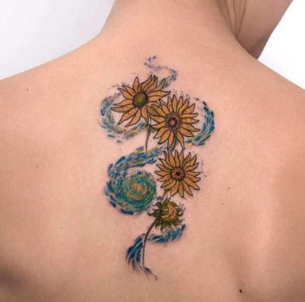 Татуировки имени Ван Гога (подборка)