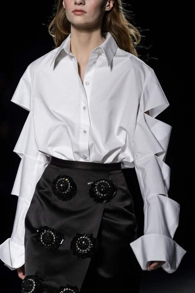 Блузы с открытыми плечиками (трафик)