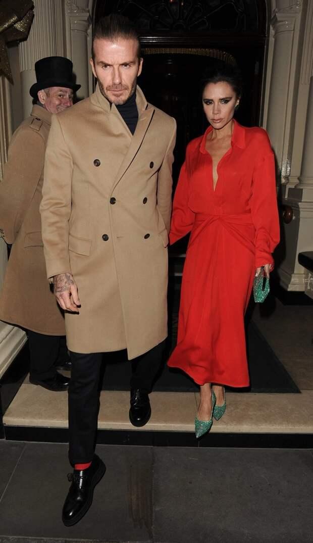 Стиль знаменитой пары: Дэвид и Виктория Бекхэм