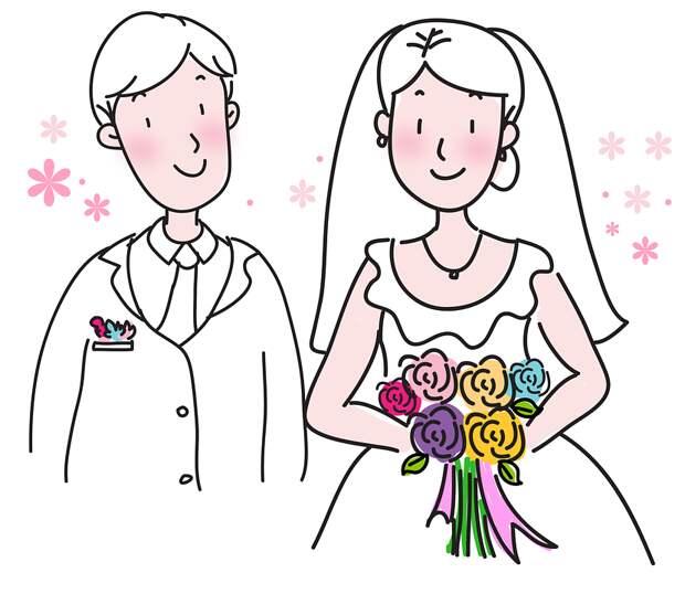 Жених И Невеста, Брак, Свадьба, Мужчин И Женщин