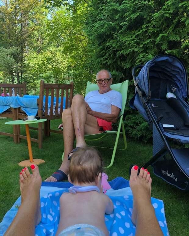 81-летний Виторган заснял жену «во всей красе» на отдыхе