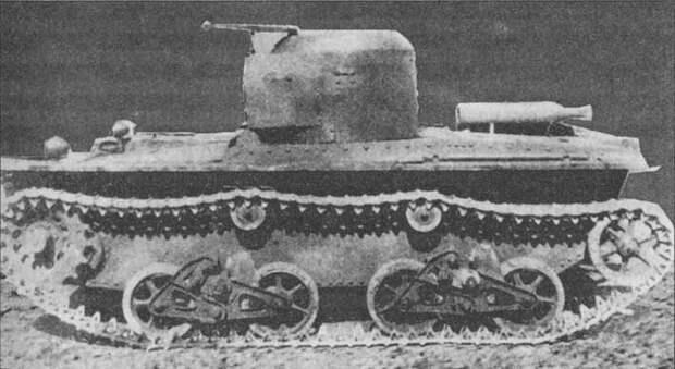 На фото - танк с подвеской Куликова на торсионах. Исто́рия, военное, плавающие танки, советские танки, танки, танки РККА