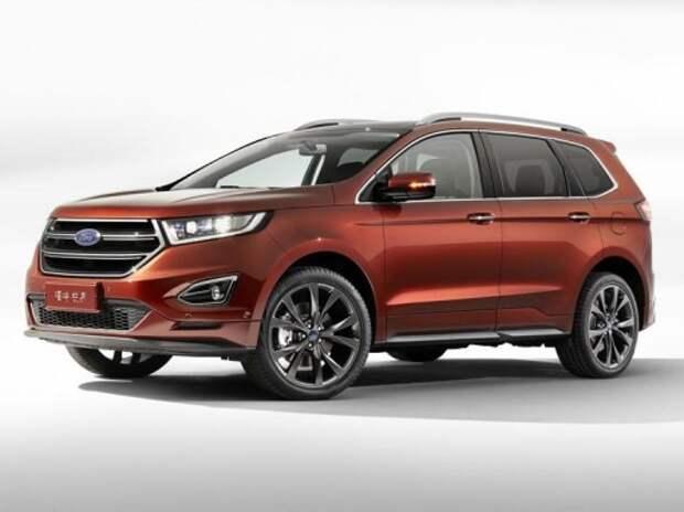 Новый Ford Edge прибыл в Китай с 7-местным салоном