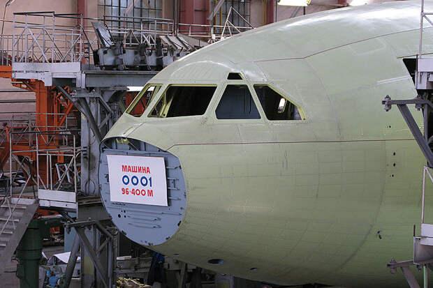 Минпромторг признал отсутствие потенциальных эксплуатантов самолетов Ил-96-400М