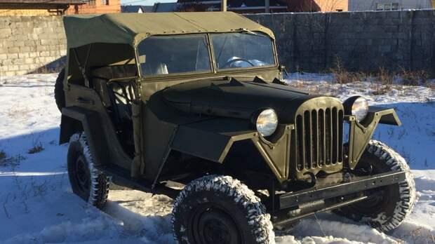 ГАЗ-67 – настоящий военный джип советского производства