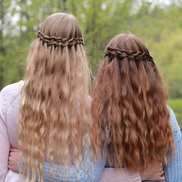29.  косы, сестры