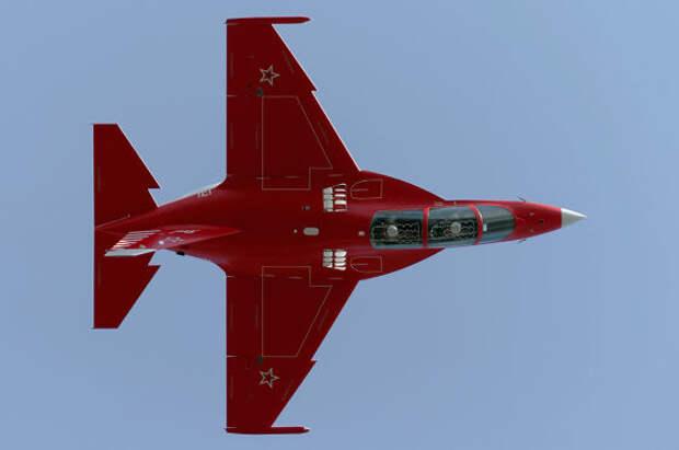 Новая пилотажная группа на Як-130 пролетит над Красной площадью 9 мая