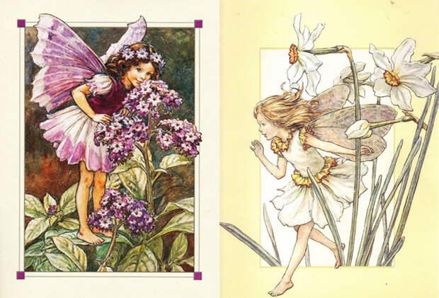 Сесиль также разрабатывала костюмы для натурных зарисовок.