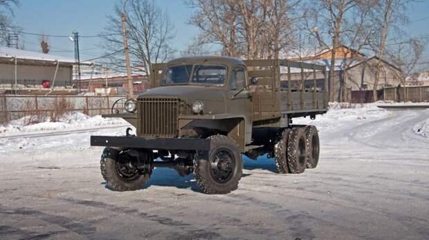Studebaker US6 три четверти (1)