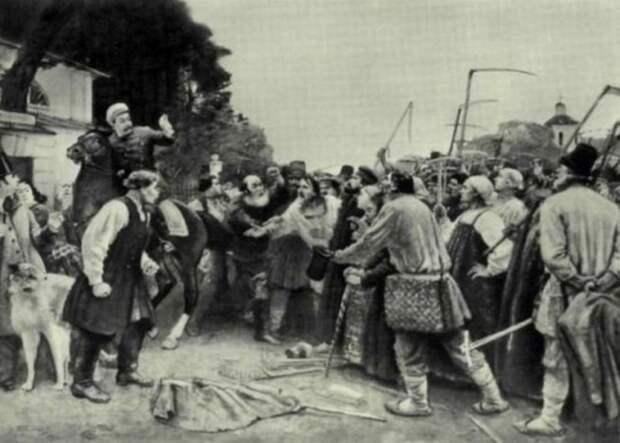 История картофельных бунтов в России