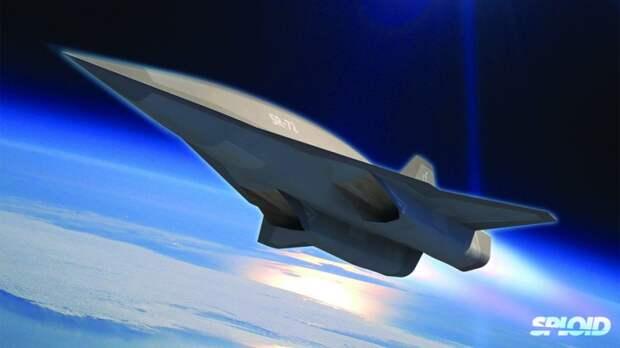 Перспективный самолет-разведчик SR-72