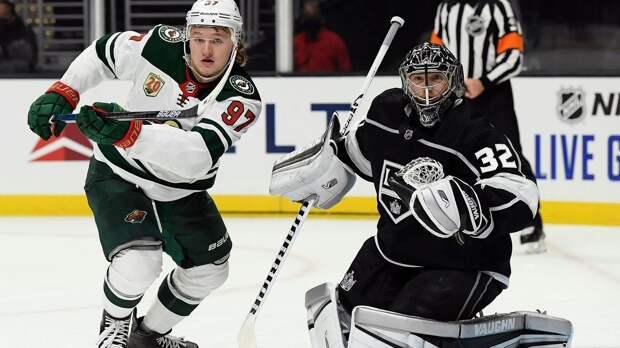 Капризов признан первой звездой в своем дебютном матче в НХЛ