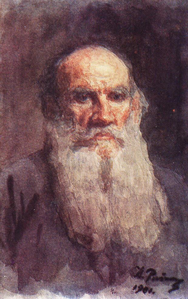 Лев Толстой глазами Ильи Репина