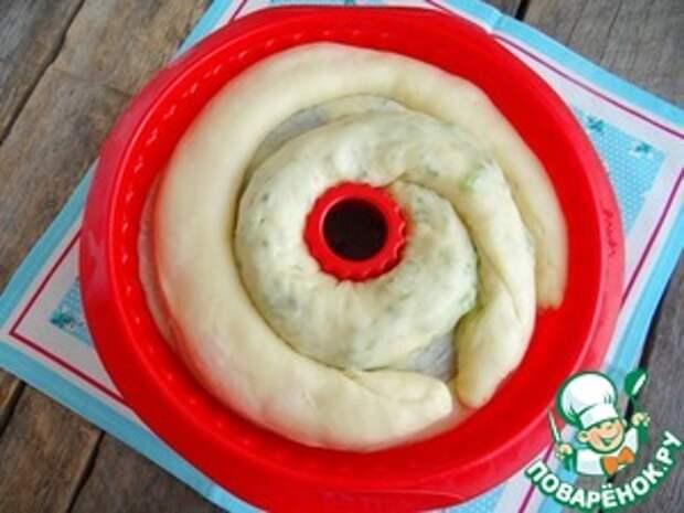 Пирог Разноцветные кружева Цукаты
