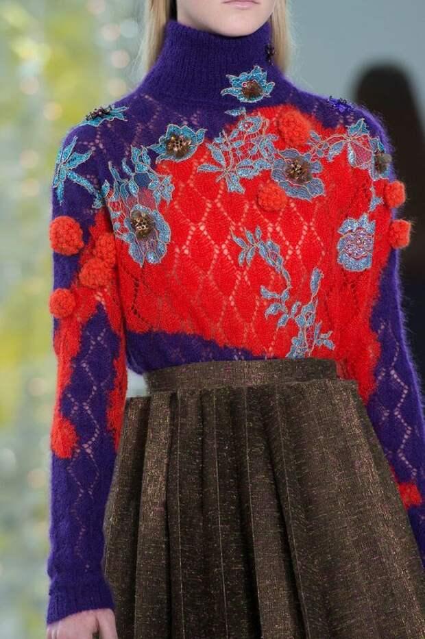 Как своими руками украсить свитер (10 идей)