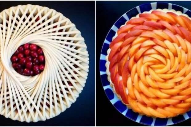 Как красиво оформить пирог 3