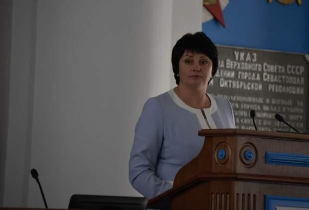 Зампред заксобрания Севастополя Лобач отказалась от кресла сенатора