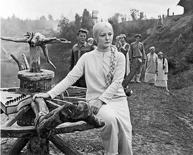 На съемках фильма Снегурочка, 1968 г.jpg