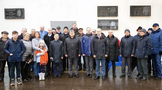 Мемориальную доску выдающемуся ученому Мелькумову открыли в Лефортове