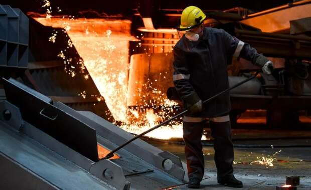 """""""Евраз"""" сократил производство стали в 2020 году на 1,3%"""