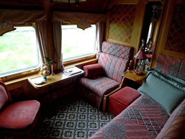 Шикарные вагоны для южноазиатского железнодорожного транспорта обеспечили. /Фото: seat61.com
