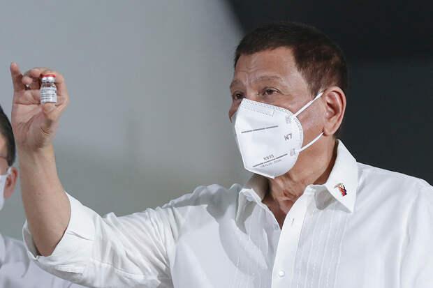 Президент Филиппин пообещал пересажать всех антипрививочников