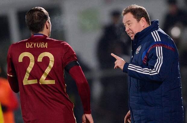 Слуцкий дал совет Дзюбе поповоду продолжения карьеры