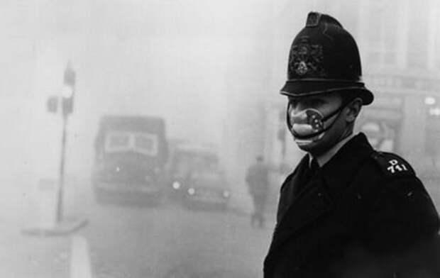 smog10 10 фотографий Великого смога в Лондоне