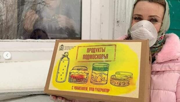 Волонтеры доставили около 50 тыс продуктовых и медицинских наборов жителям Подмосковья