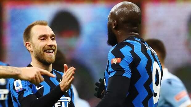 «Интер» победил «Кротоне» благодаря голам Эриксона и Хакими