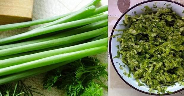польза зелени