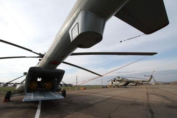 Начались поставки новых вертолетов Ми-8 АМТШ в российскую армию