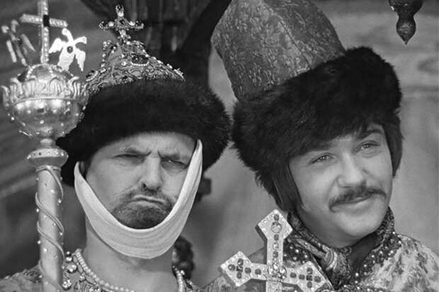 иван грозный и жорж милославский