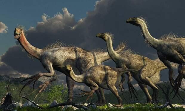 Ученые выяснили, почему у динозавров были длинные ноги