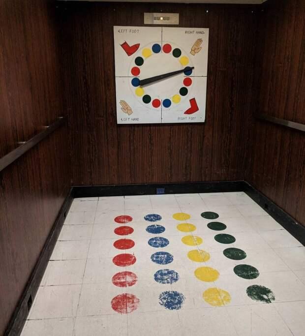 Лифт, в котором скучно не будет