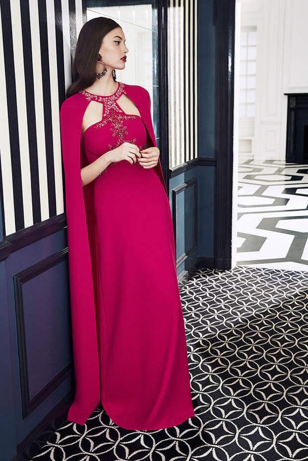 Маркиза драмы: модная коллекция Marchesa Notte осень 2019, фото № 11
