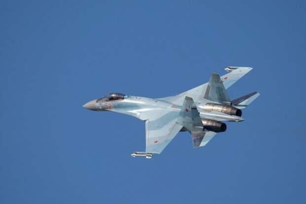 Су-27 снова поднимали на перехват ВВС США и Швеции
