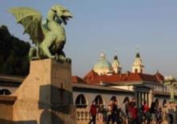 Почему в Любляне чествуют зеленого дракона