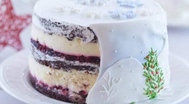 Торт Снежный